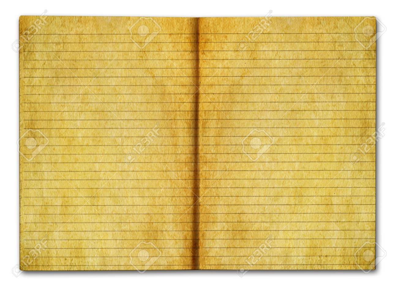 grunge notebook Stock Photo - 6095813