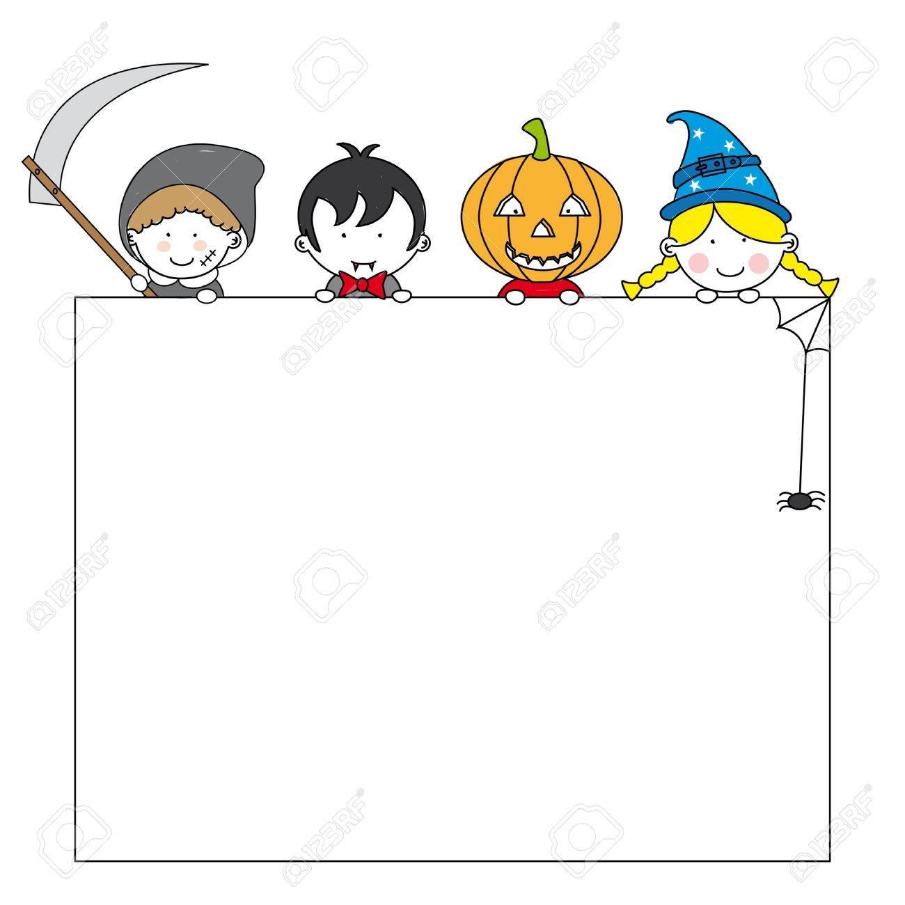 Karten Halloween Party Einladung Lizenzfreie Bilder   10702369