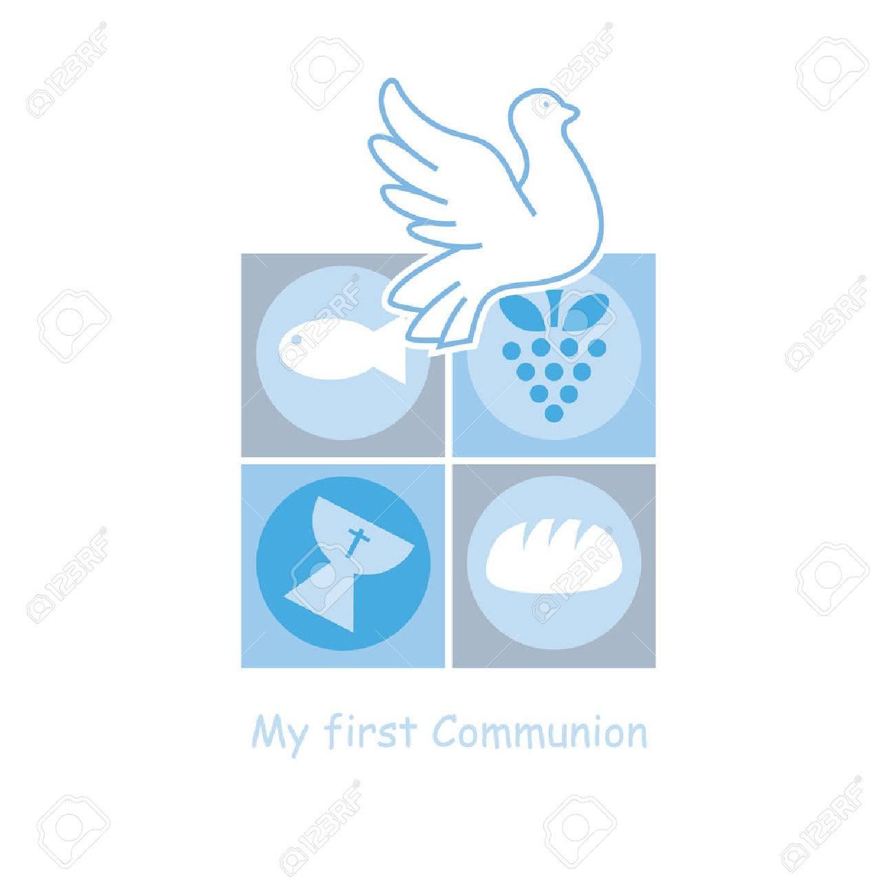 Boy First Communion card - 56119568