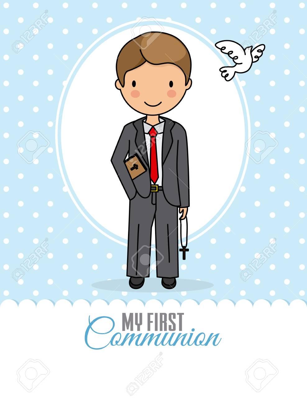 my first communion boy - 112642206