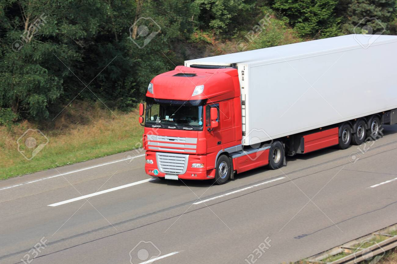 Trucks on the highway - 140729160