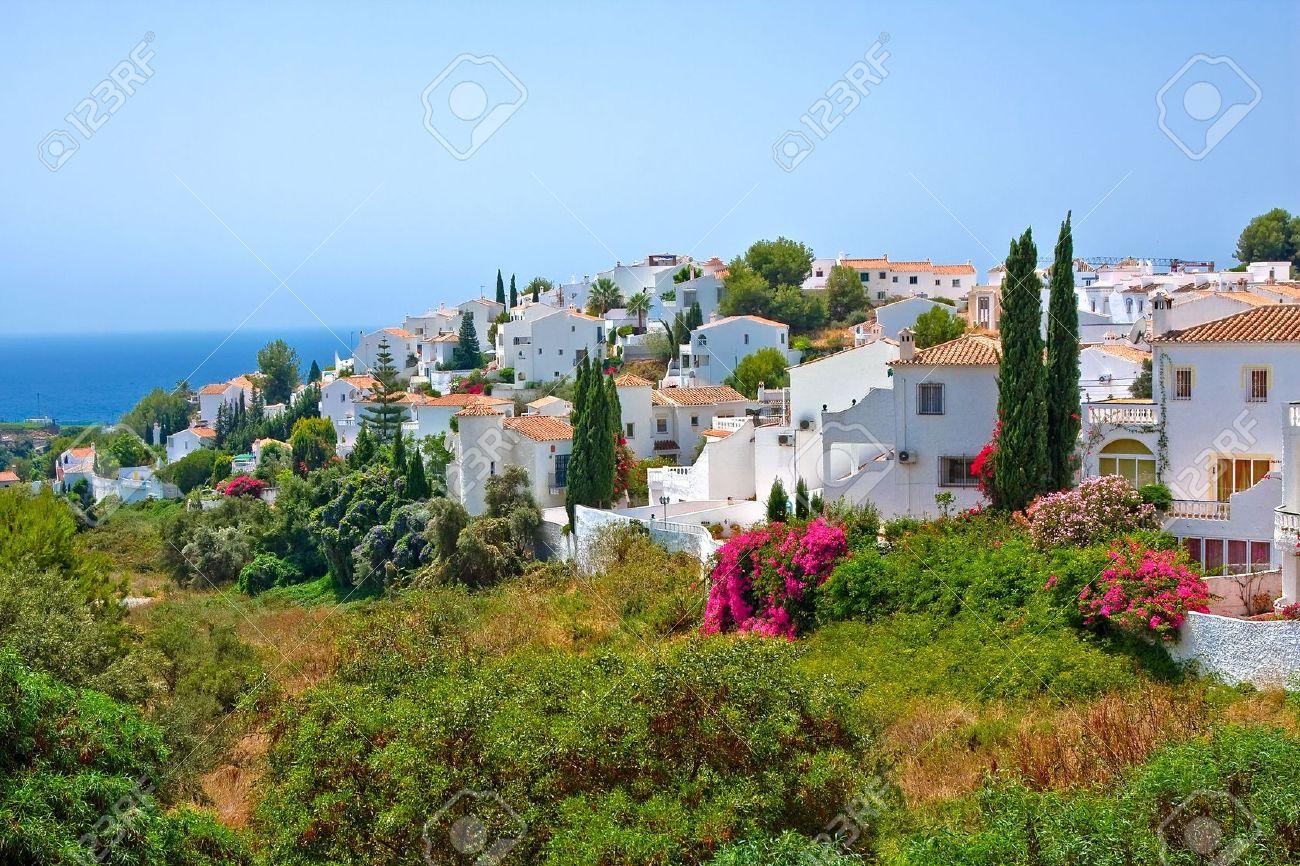Spanish landscape, Nerja, Costa del Sol, Spain Stock Photo - 5698974