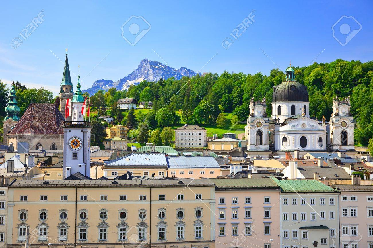 Old town Salzburg, Austria Stock Photo - 7315272
