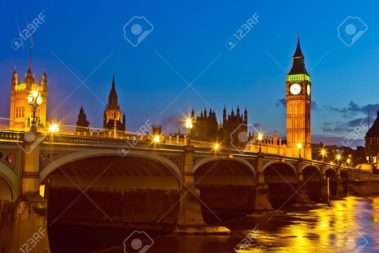 London at night, UK Stock Photo - 7606069