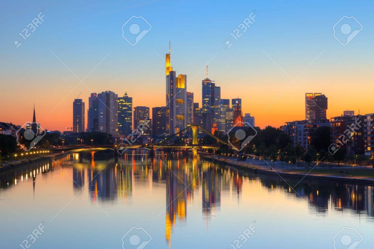 Frankfurt am Main Stock Photo - 9696080