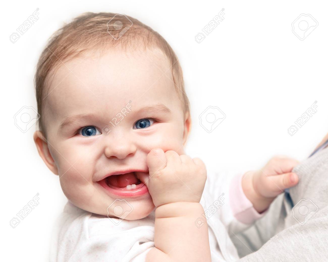 Cute smiling baby Stock Photo - 9696026
