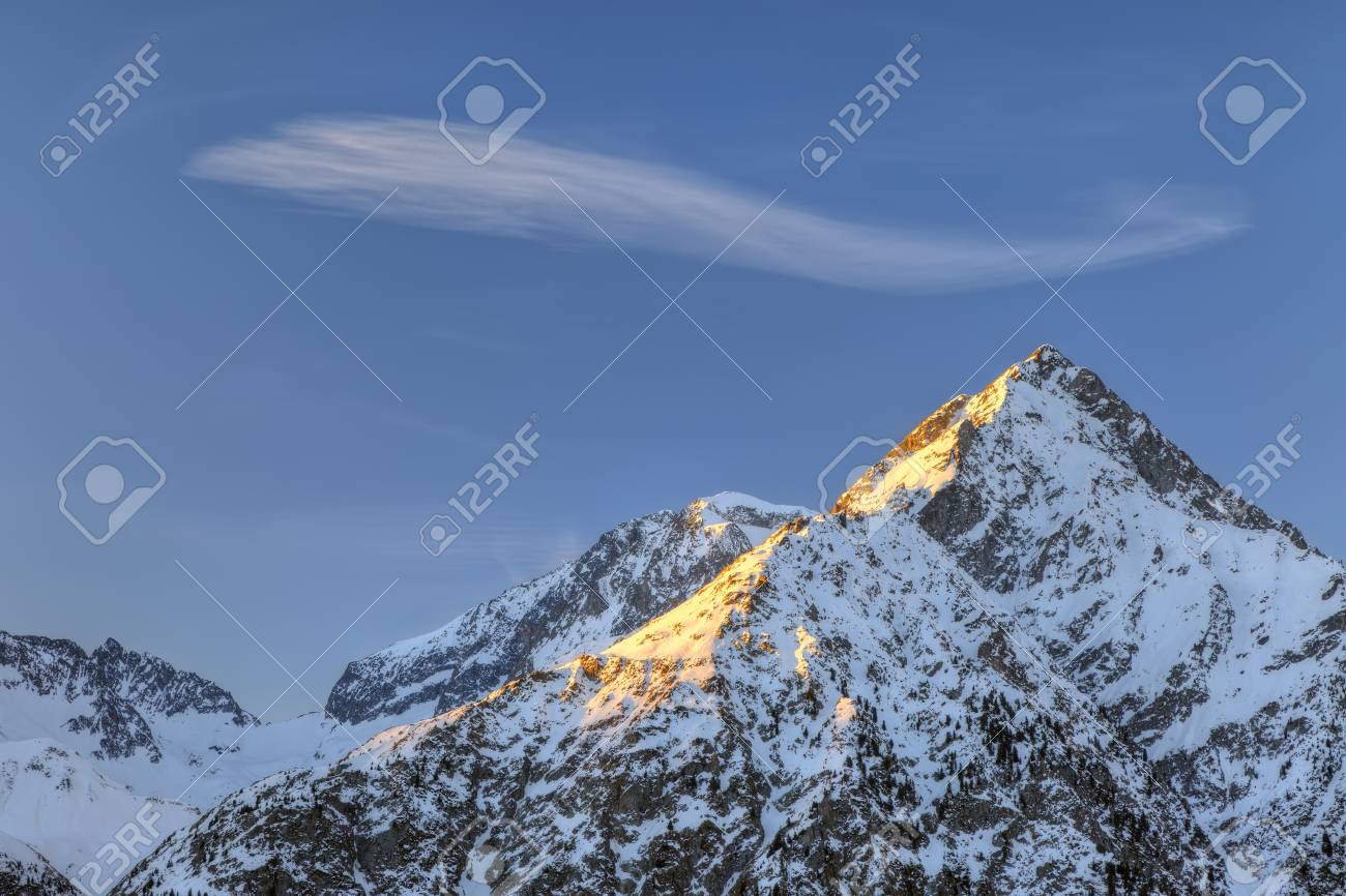 French Alps Stock Photo - 10059354