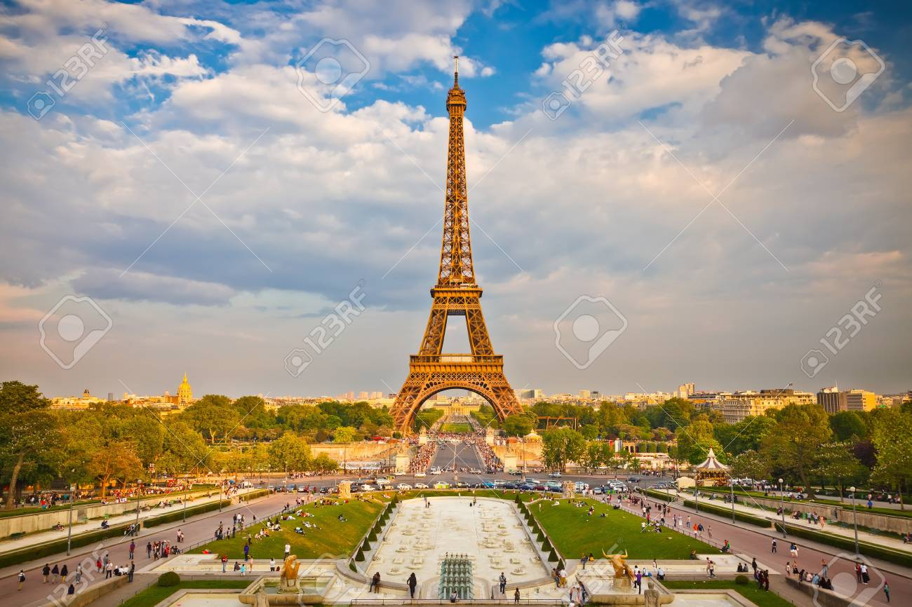 Eiffel Tower Stock Photo - 10059353