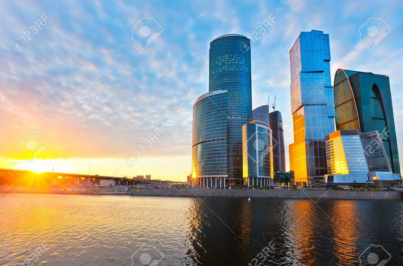 moscow city Stock Photo - 10129473