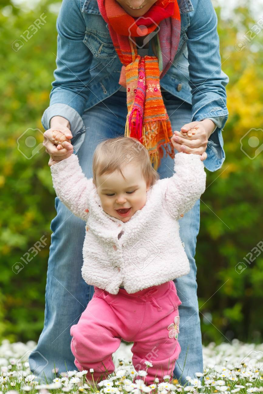 First steps Stock Photo - 10505729