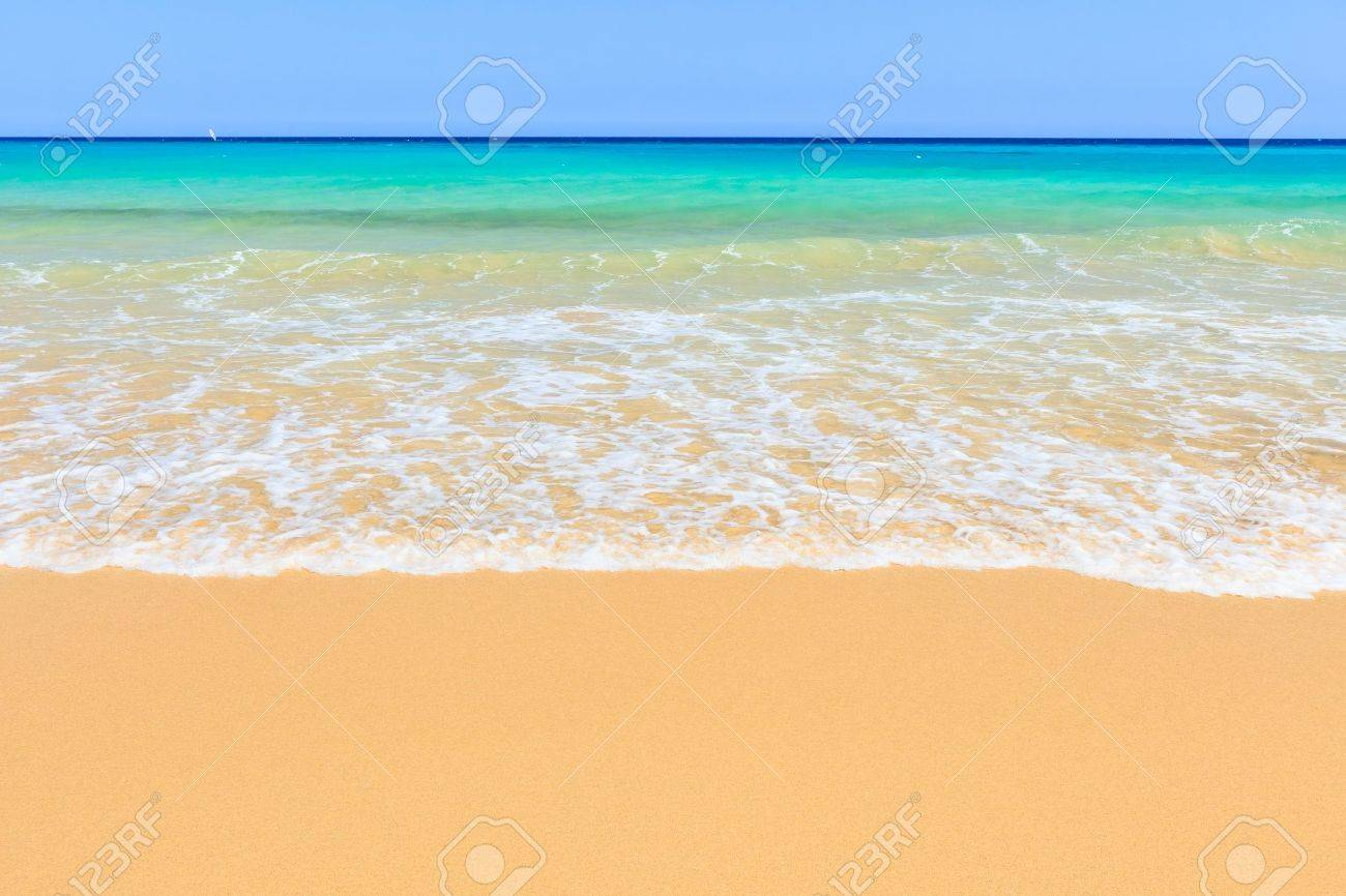 beautiful ocean beach stock photo picture and royalty free image