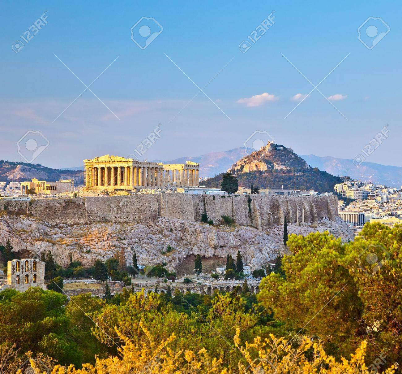 View on Acropolis in Athens - 11011923