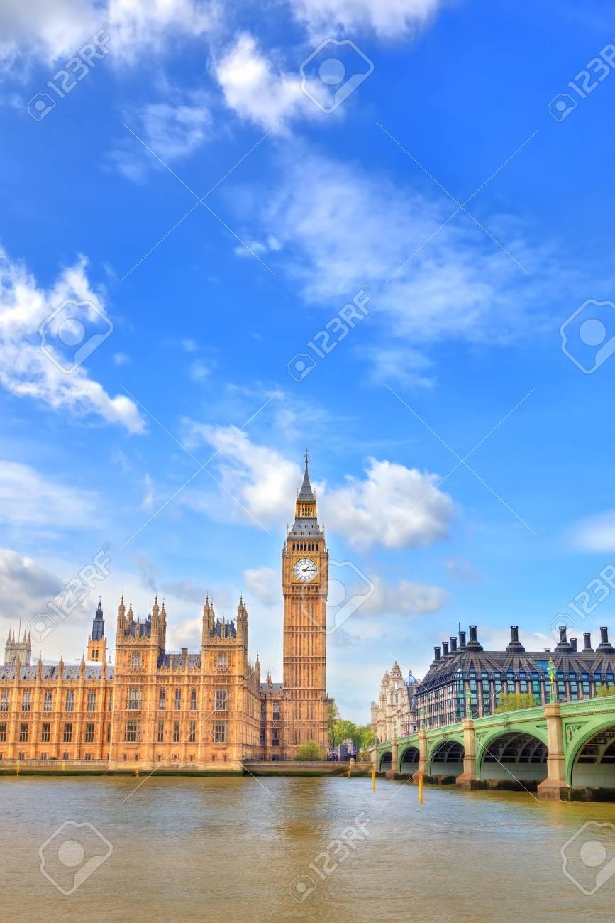 View on Big Ben, London, UK Stock Photo - 12440779