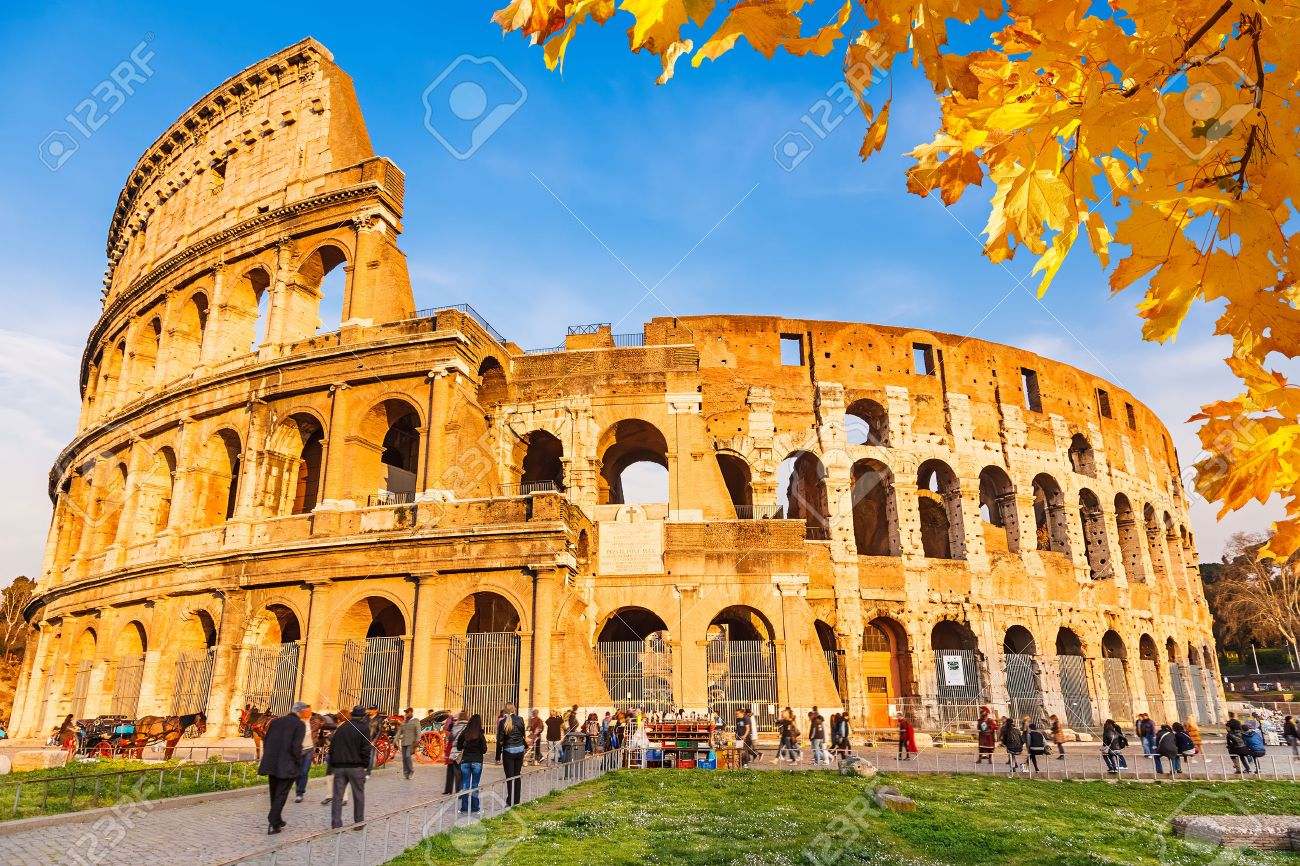 Fine Roman Architecture Colosseum For Design Ideas