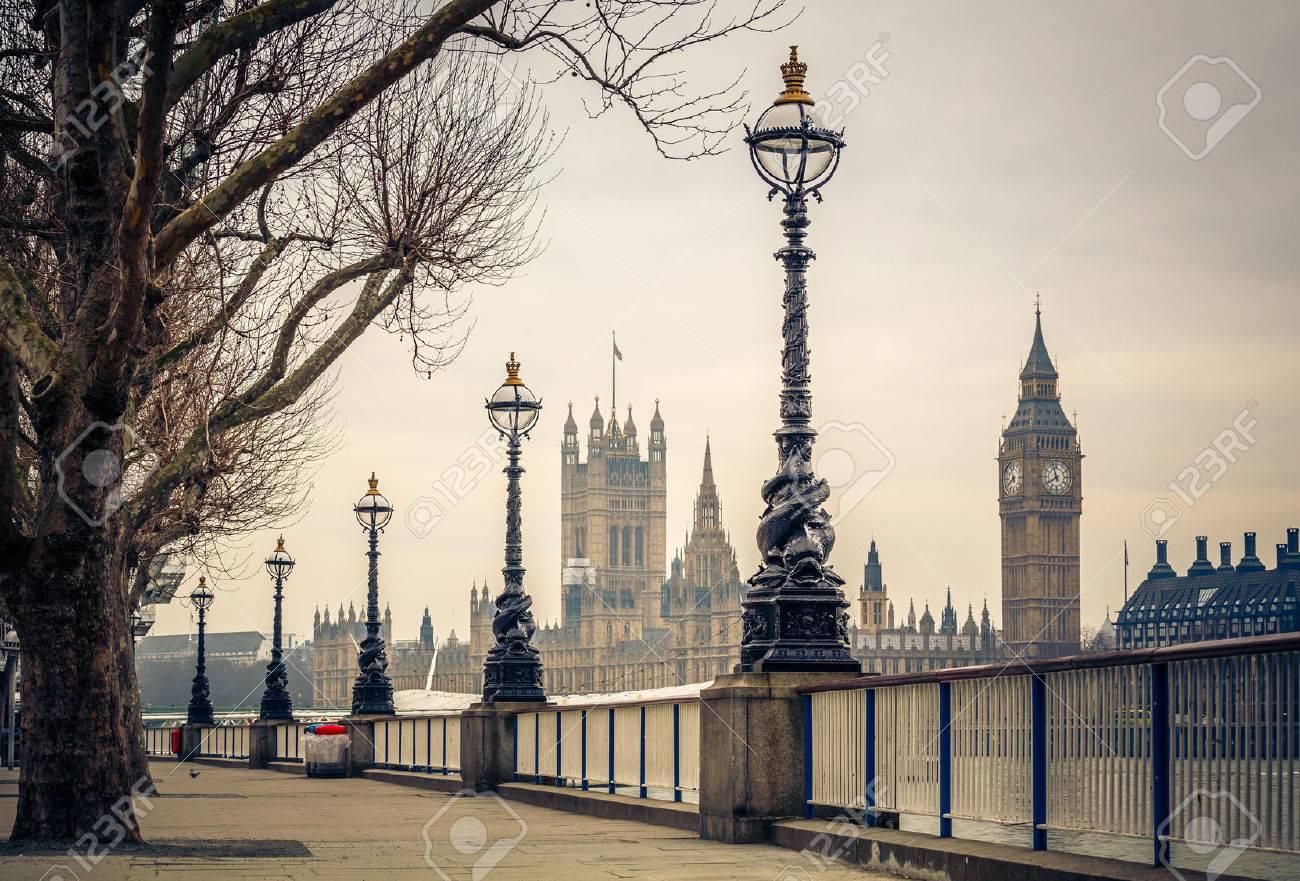 Big Ben et Houses of Parliament, Londres Banque d'images - 38999290