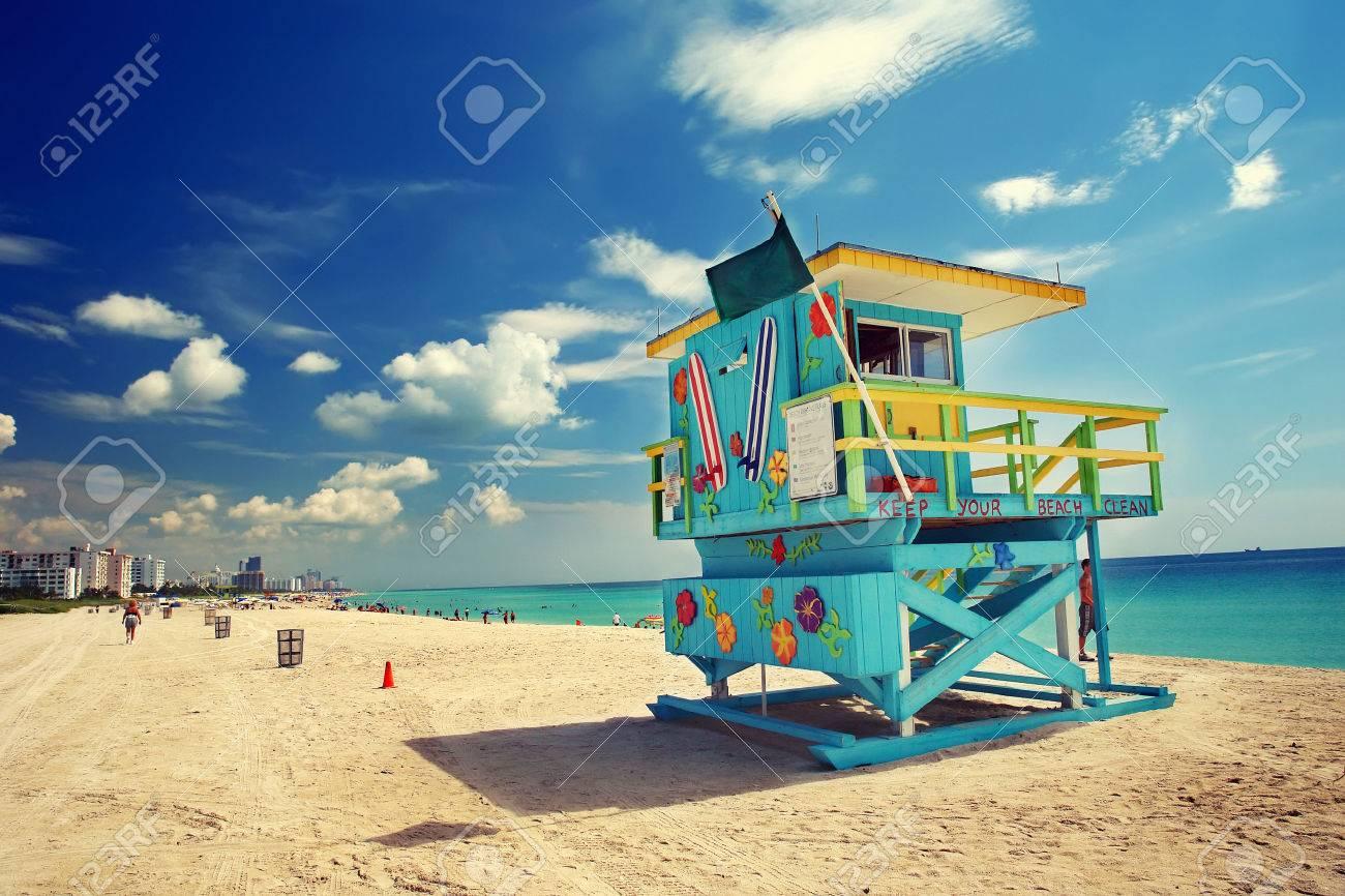 South Beach, Miami, Floride  Banque d'images - 44900983