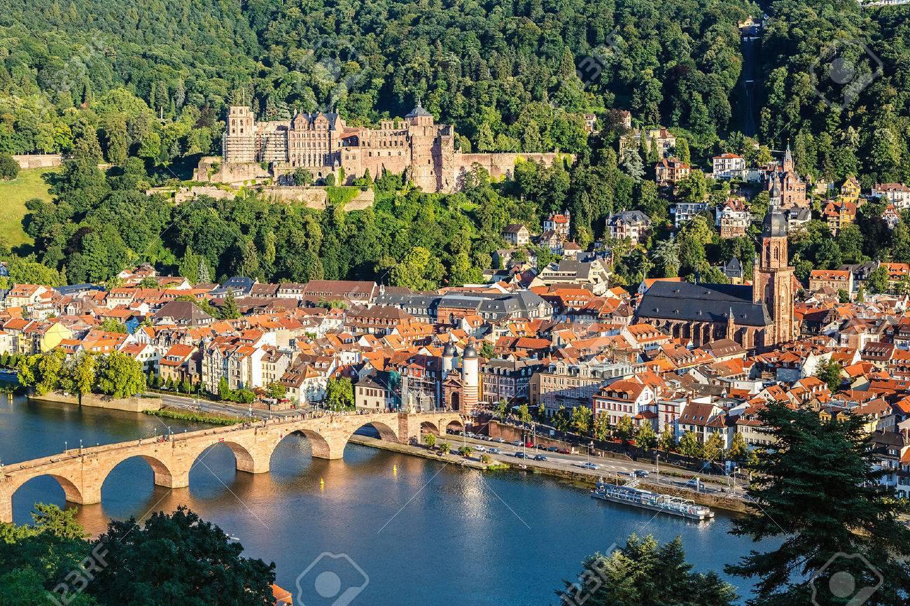 View on Heidelberg at summer, Germany - 52414873