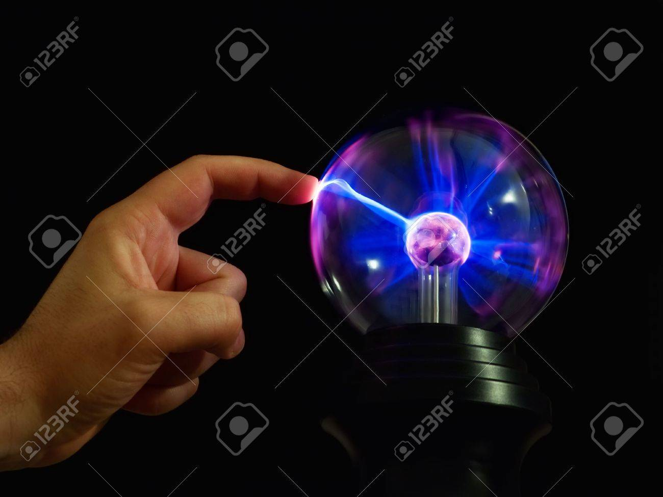 Metaphor about  connection between  people and technology. Stock Photo - 4824392