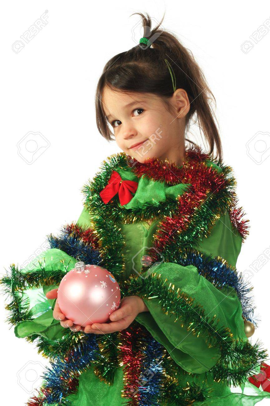 Kostüm Tannenbaum.Stock Photo