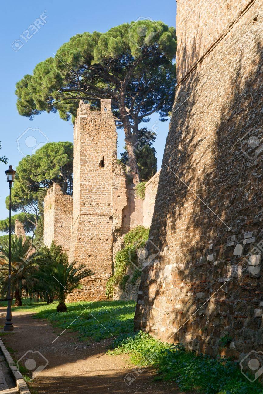 Rome, イタリアのアウレリアヌス...