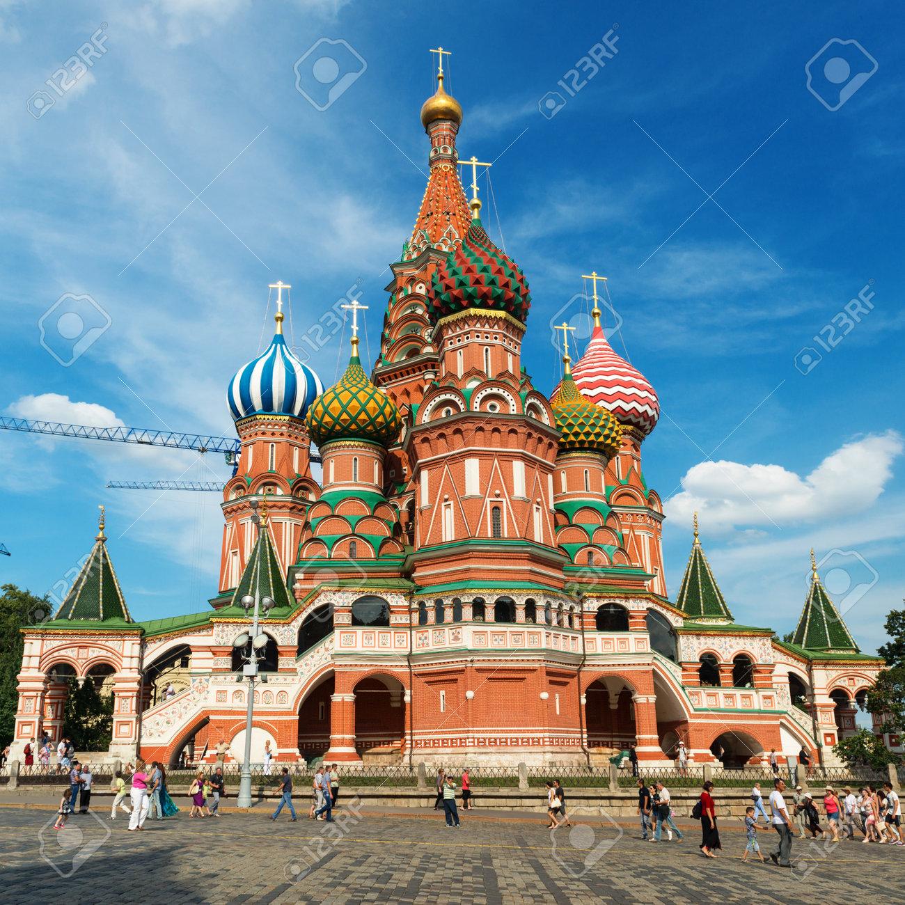 ポクロフ スキー大聖堂をモスク...