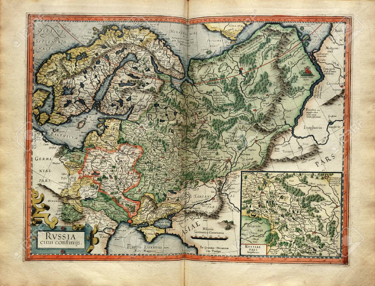 メルカトルで 1587 年にアトラス...