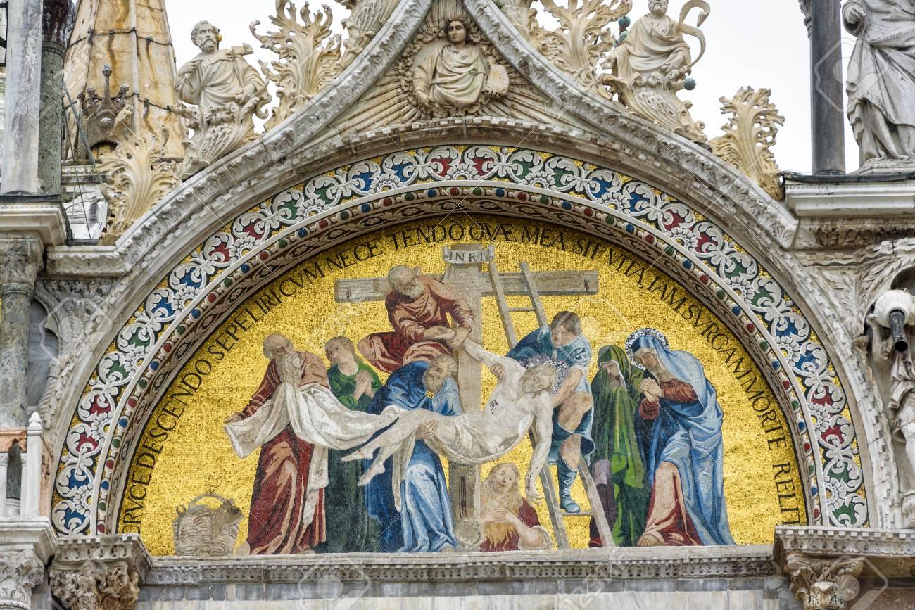Image result for basilica di san marco venice italy facade mosaics