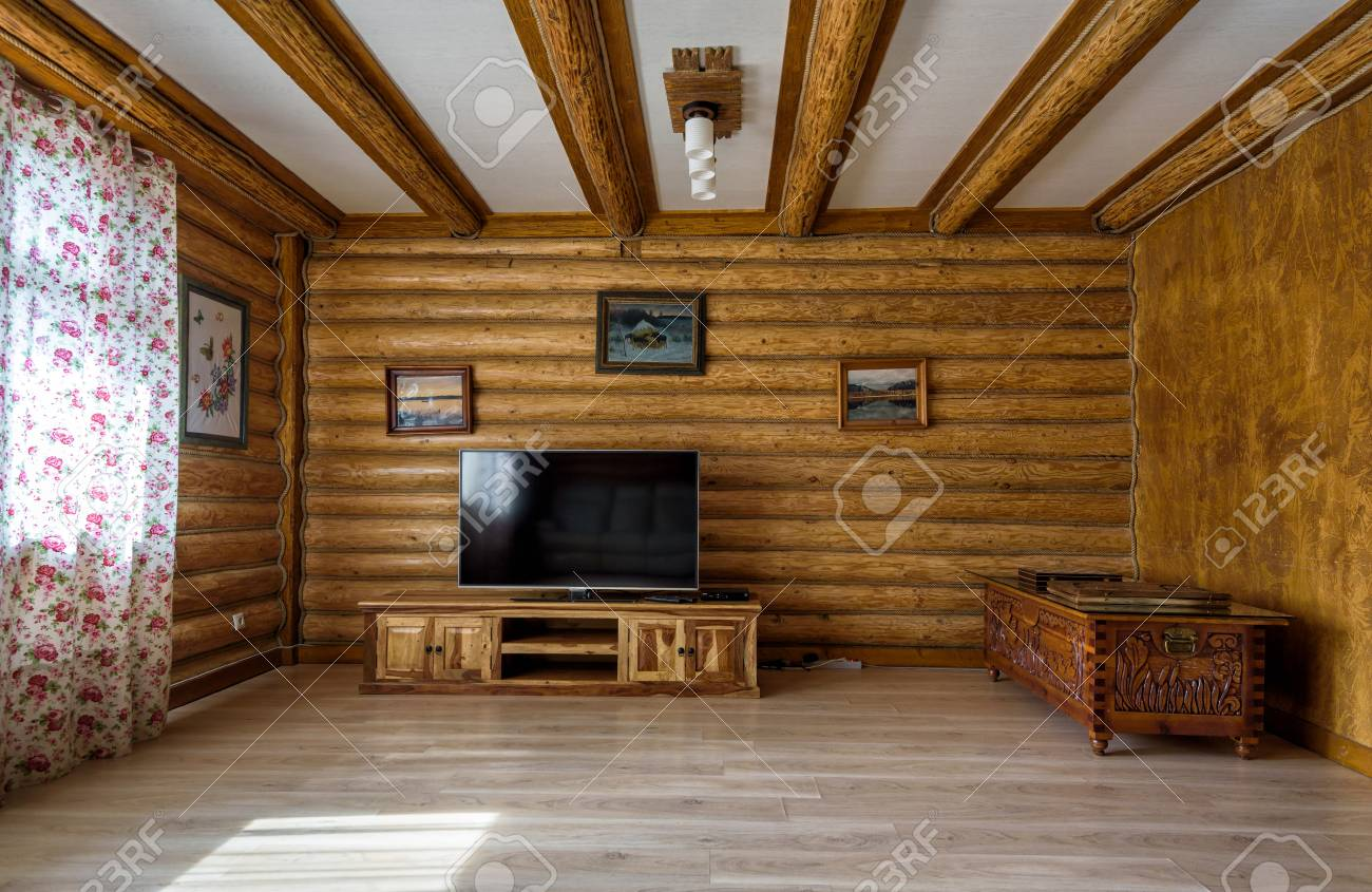 Interior Of Country House Or Hotel Interior Design Of A Living Stock Photo Picture And Royalty Free Image Image 112425254