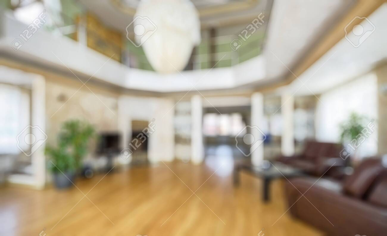 Modern Interior Of Hotel Or Home As Creative Abstract Blur Background Stock Photo Picture And Royalty Free Image Image 120041209