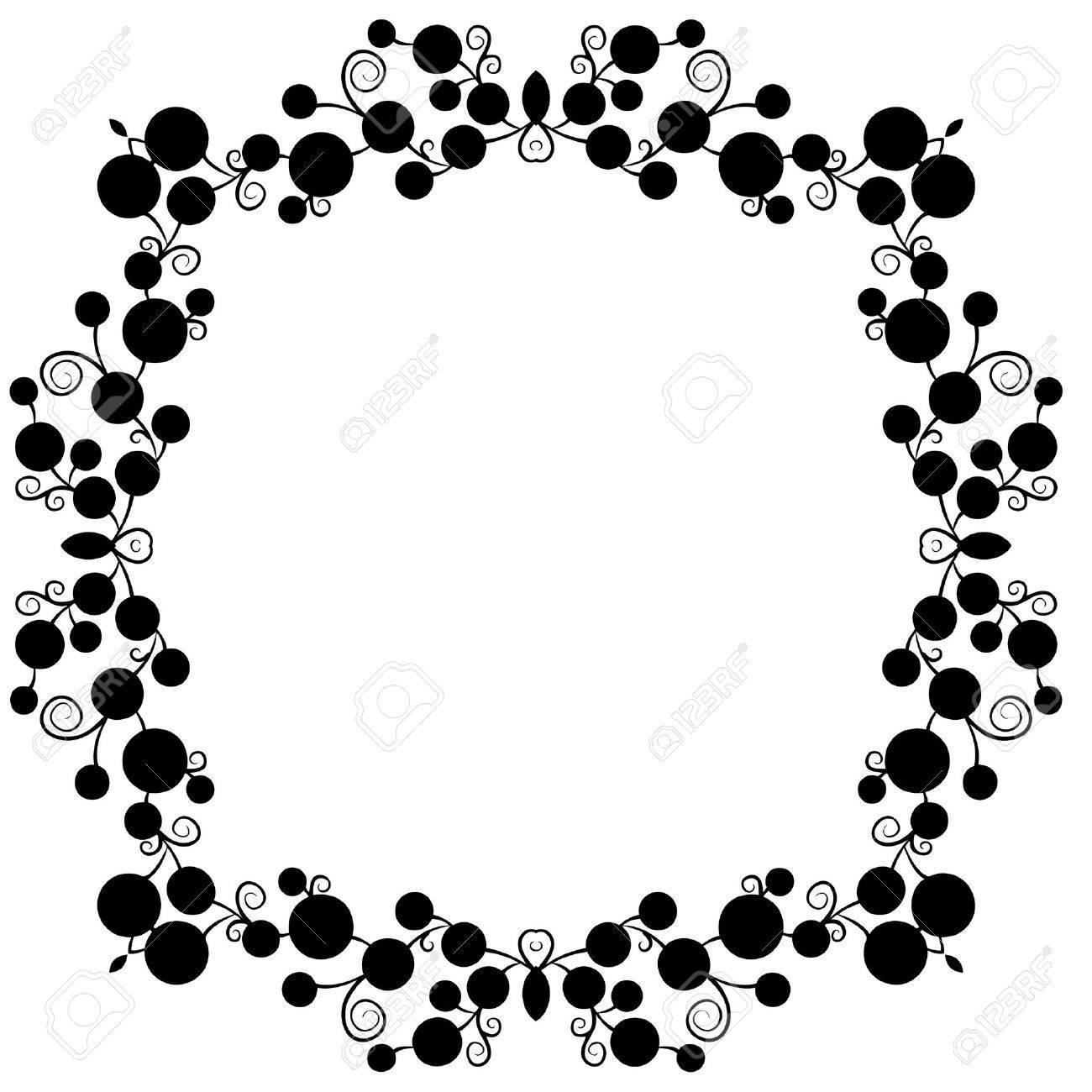 Polka Dot Vector Frame Royalty Free Cliparts, Vectors, And Stock ...