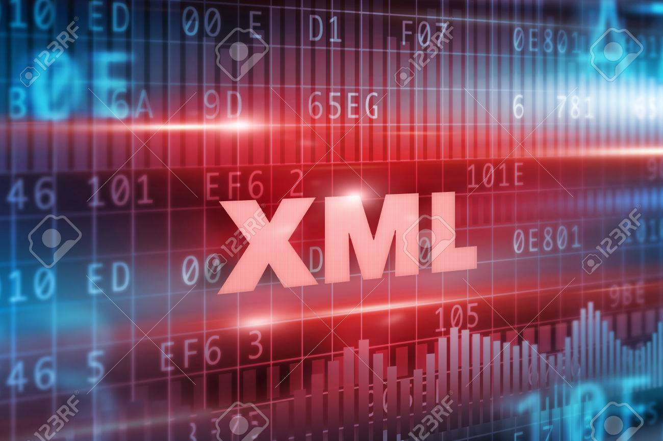 Background image xml - Stock Photo Xml Abstract Concept Red Text Red Background
