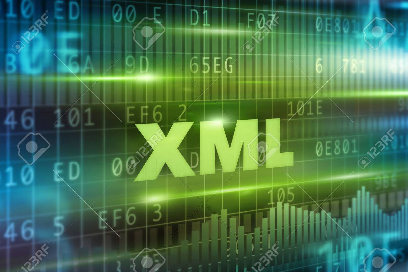 Background image xml - Stock Photo Xml Abstract Concept Green Text Green Background