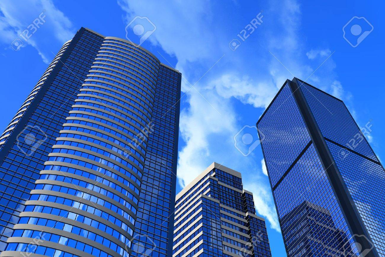 Corporate buildings Stock Photo - 4728292