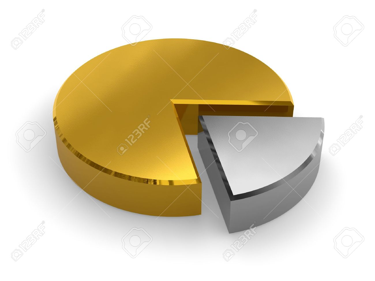 Golden pie chart stock photo picture and royalty free image image golden pie chart stock photo 4795579 nvjuhfo Choice Image
