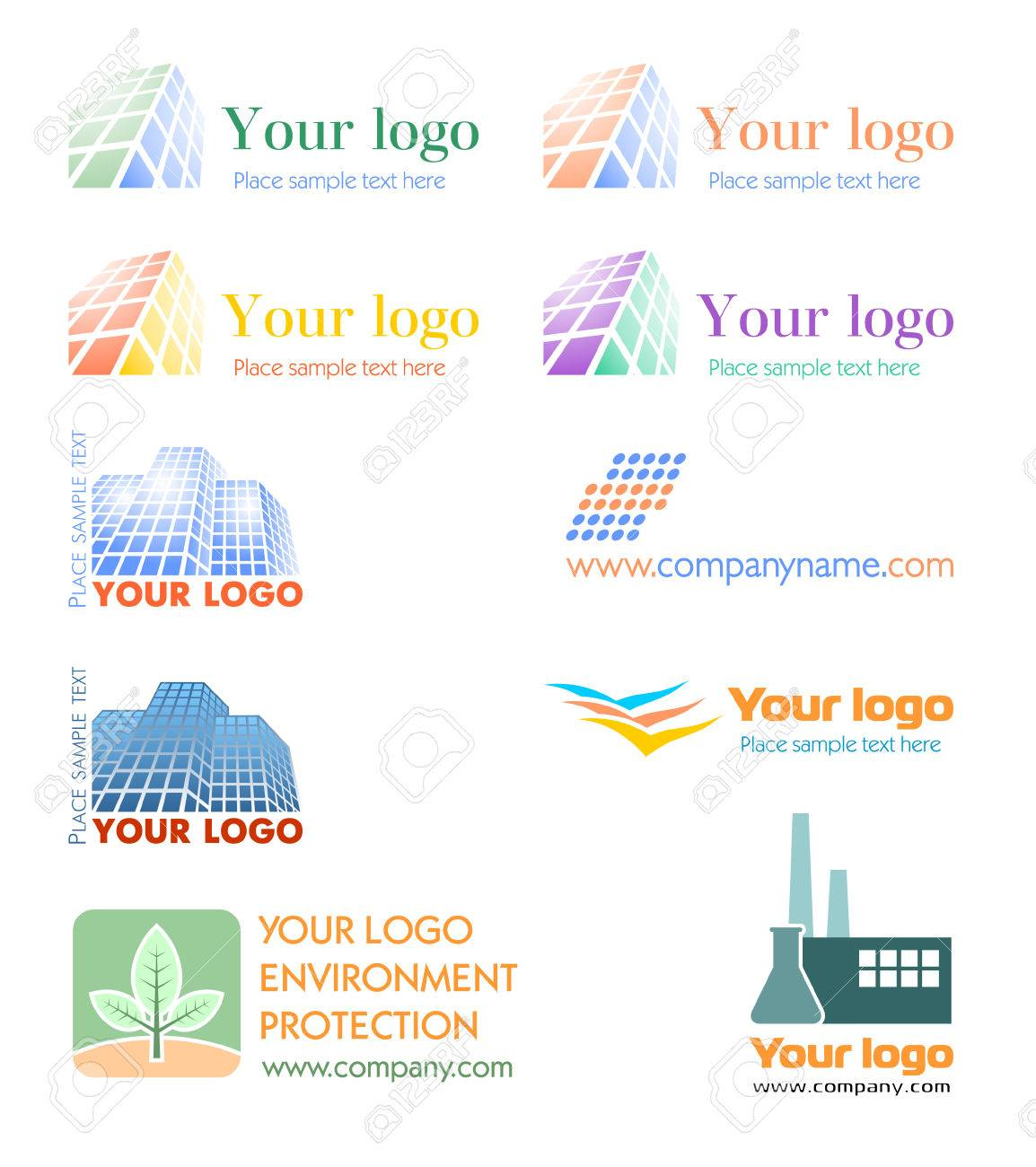 Logo set Stock Vector - 4848135