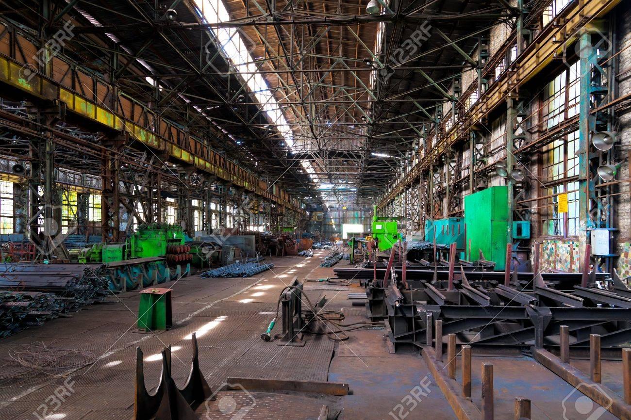 Metal warehouse Stock Photo - 12812060