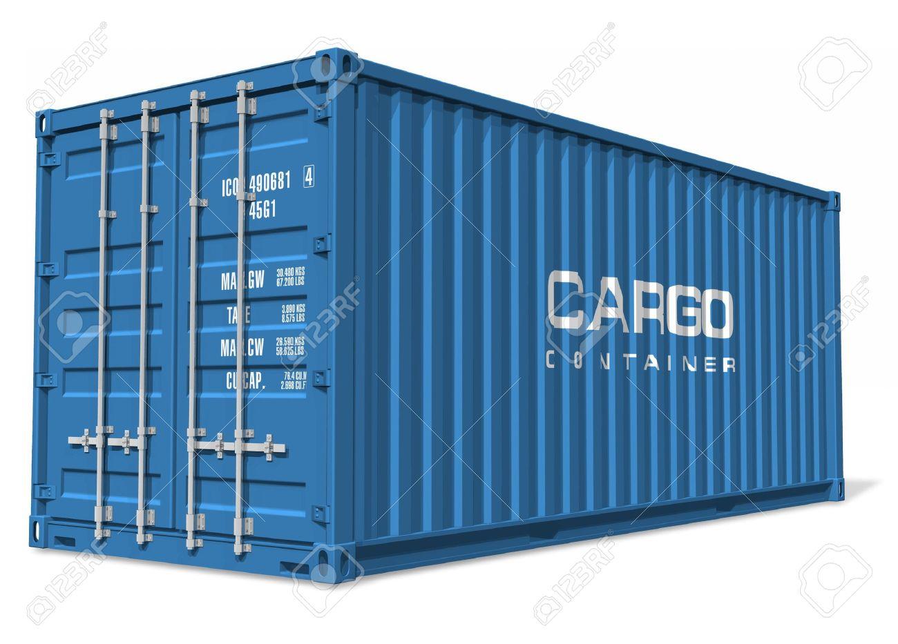 Cargo container Stock Photo - 7946933