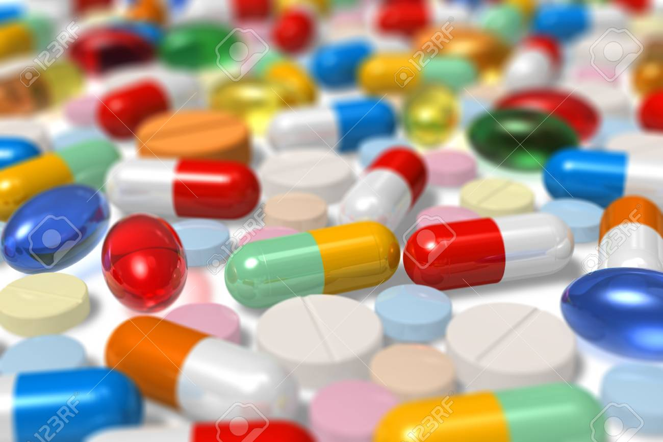 Drugs. Selective focus effect Stock Photo - 8171696