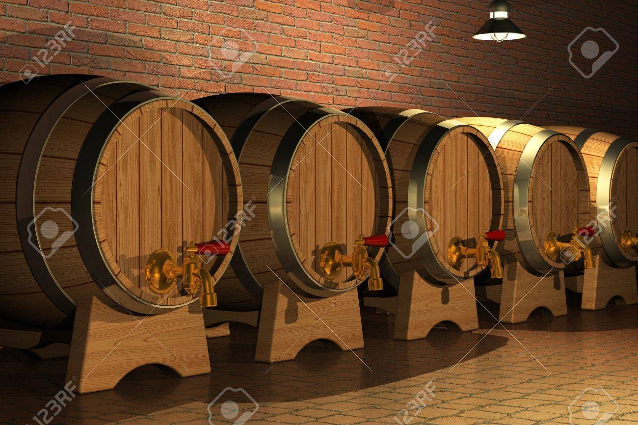 Winery Stock Photo - 8406680