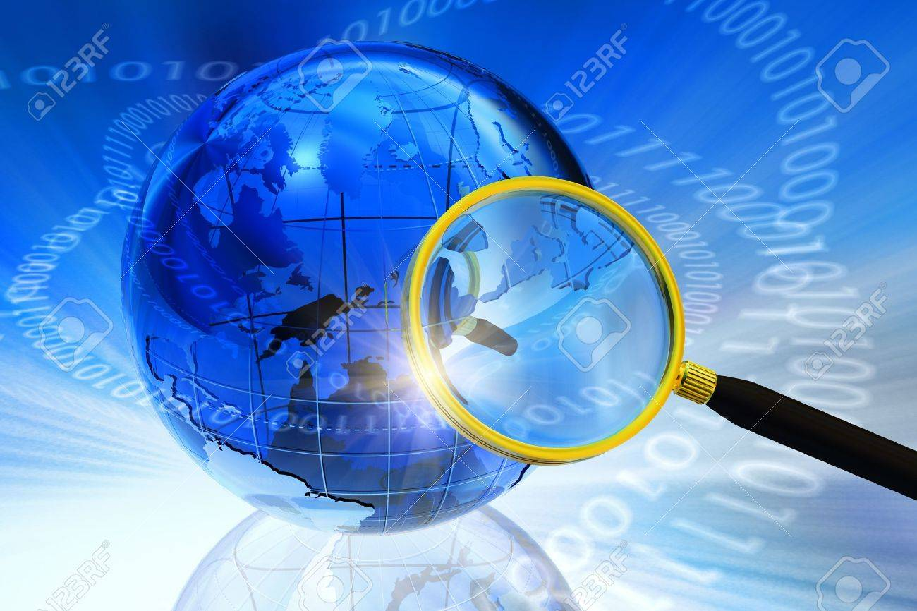 Internet/Global communication concept Stock Photo - 9196447