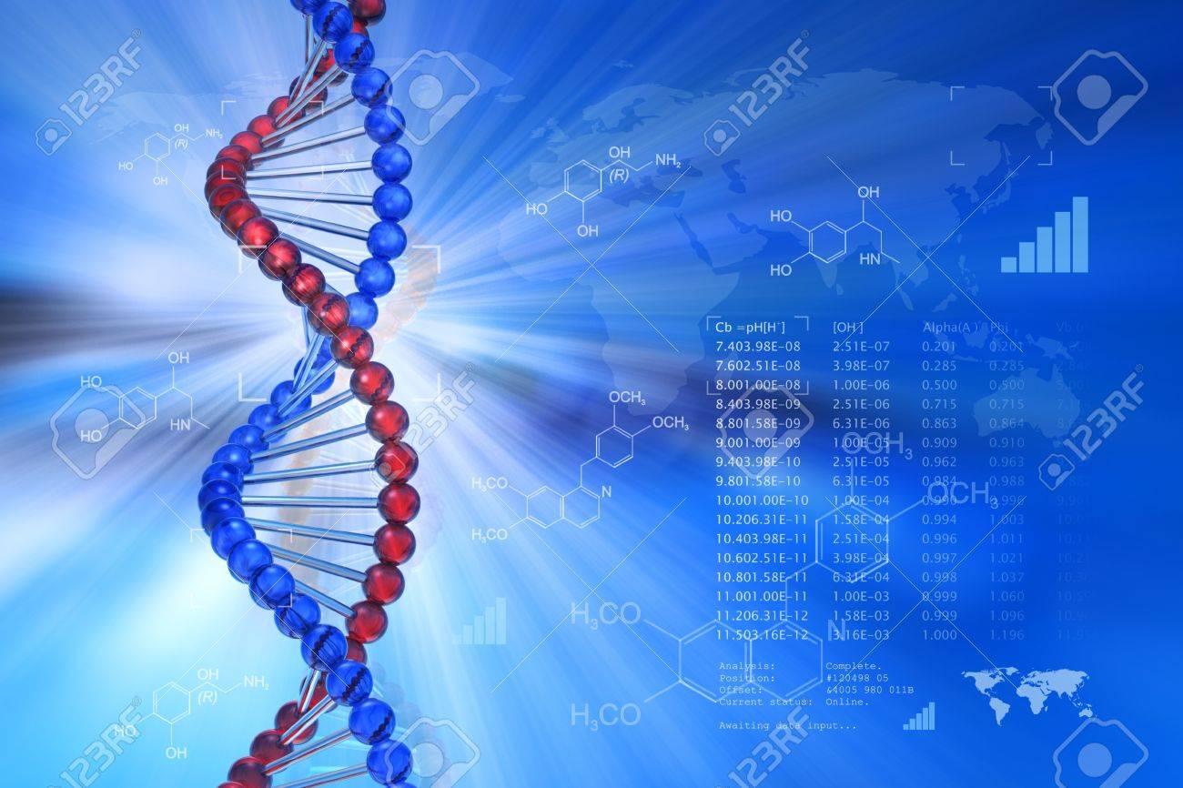 Genetic engineering scientific concept Stock Photo - 9341119
