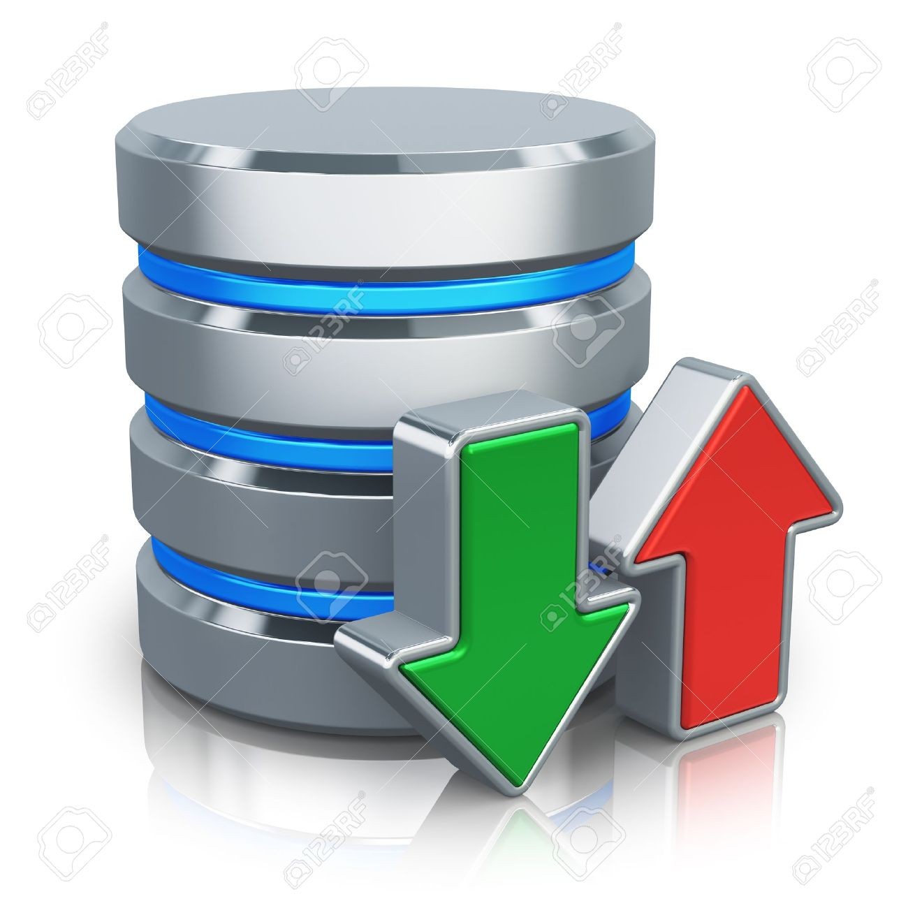 HDD business database, backup and cloud computing service concept
