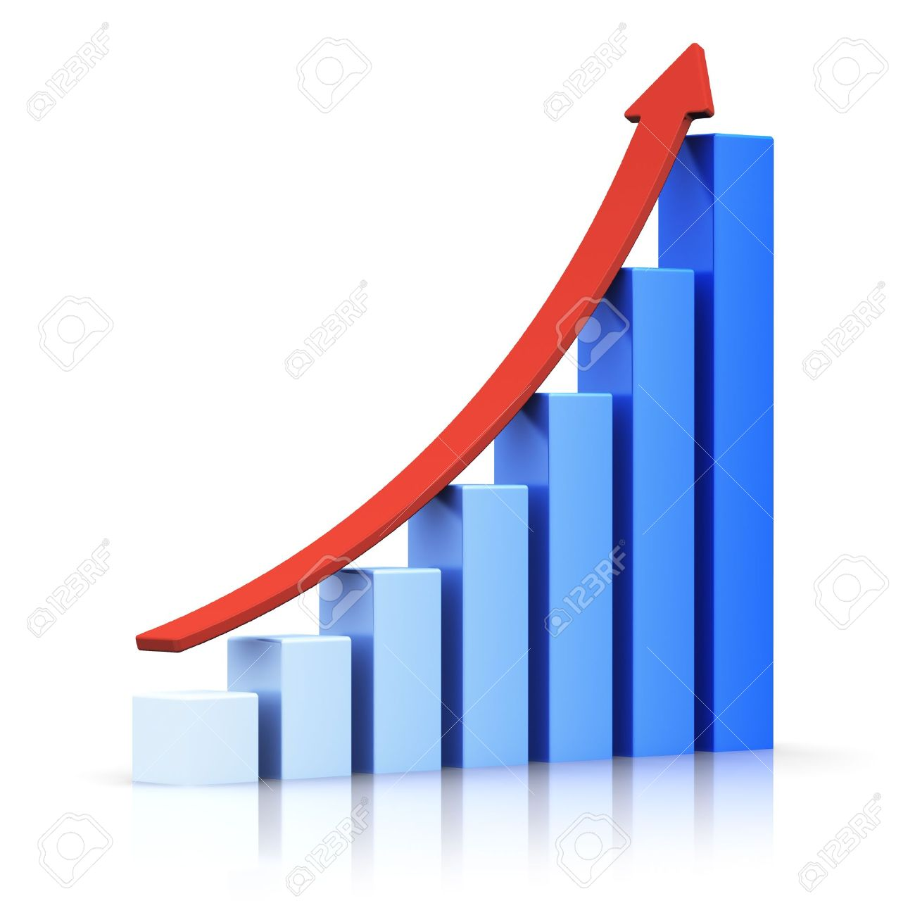 Arrow growth chart craftbnb growth chart stock photos images 220445 royalty free growth nvjuhfo Gallery