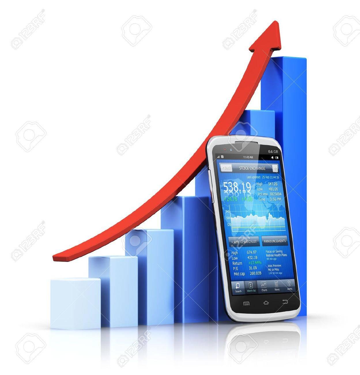 Mobile banking Stock Photo - 17539854
