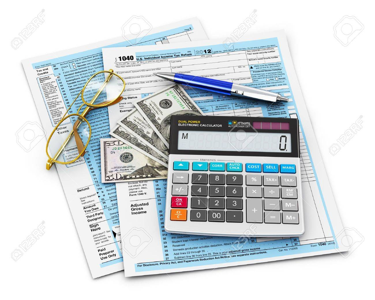 Business finance tax and accounting concept 1040 us individual business finance tax and accounting concept 1040 us individual income tax form office calculator falaconquin