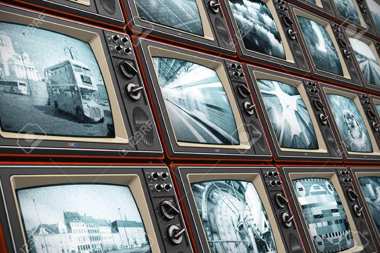 Oude Televisie Royalty-Vrije Foto's, Plaatjes, Beelden En Stock ...