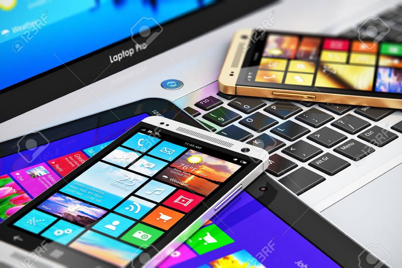 Ufficio In Mobilità : Mobilità e moderno concetto di tecnologia di comunicazione internet