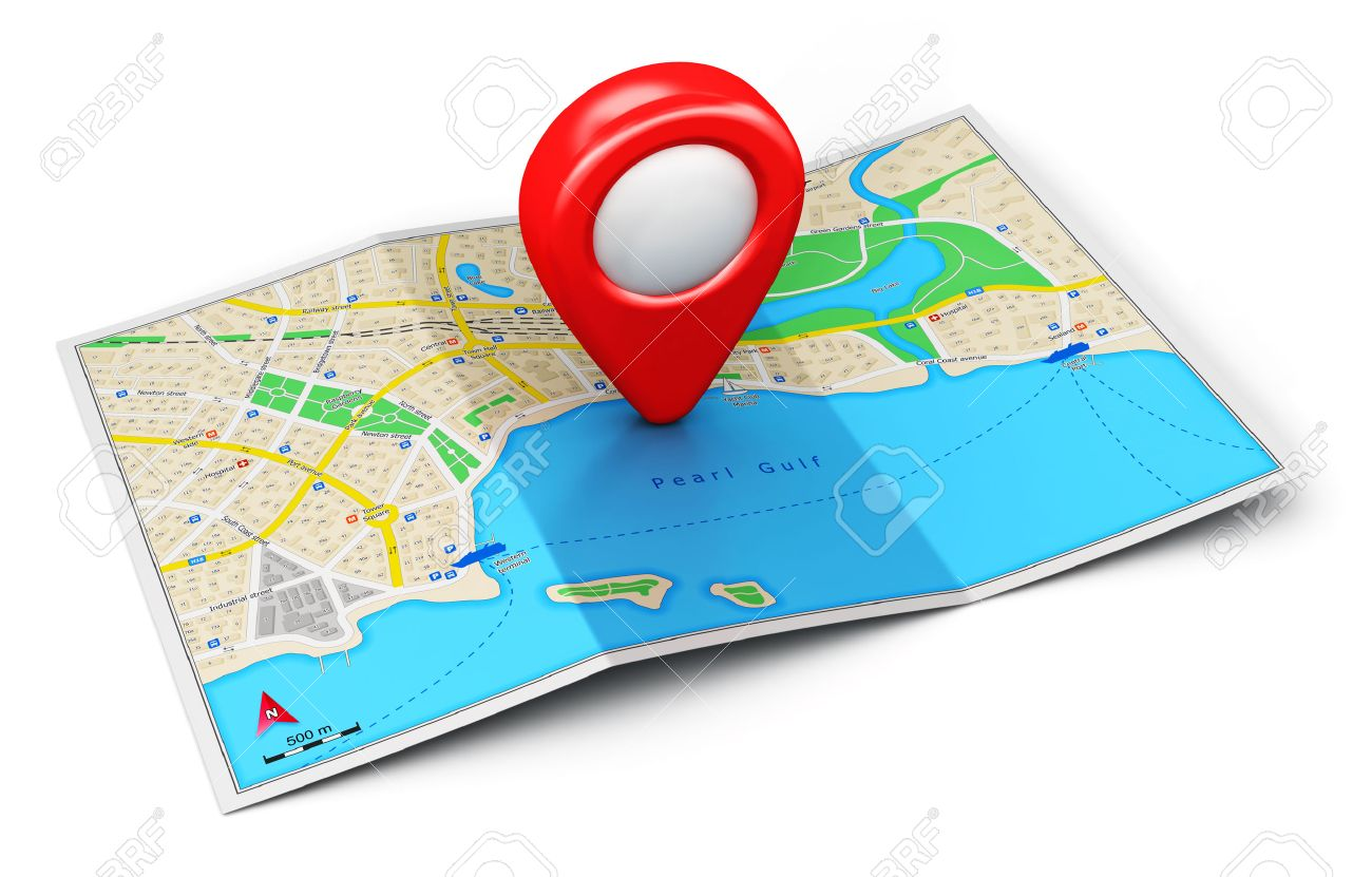 Background image location - Location Creative Abstract Gps Satellite Navigation Travel Tourism And Location Route Planning Business
