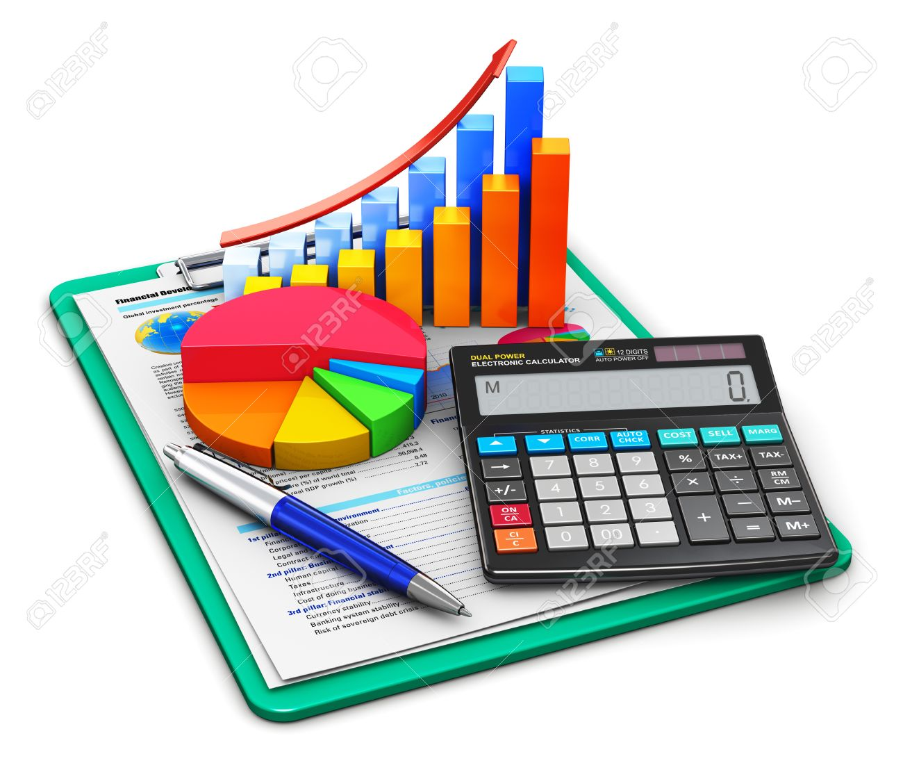 creative abstract business finance tax accounting banking
