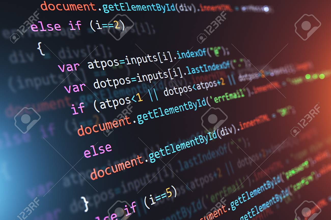 Creative Abstract Php Web Design Internet Programming Html Language Stock Photo Picture And Royalty Free Image Image 110003490